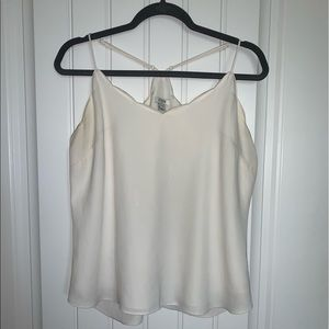 J. Crew scalloped neckline cami